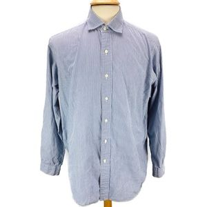 Polo Ralph Lauren WESTERTON Blue Stripe Shirt